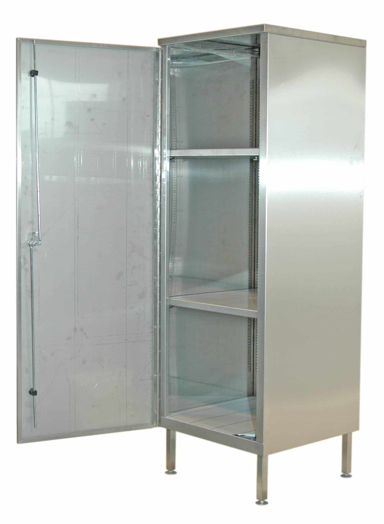 Free Standing Cleaners Cupboard