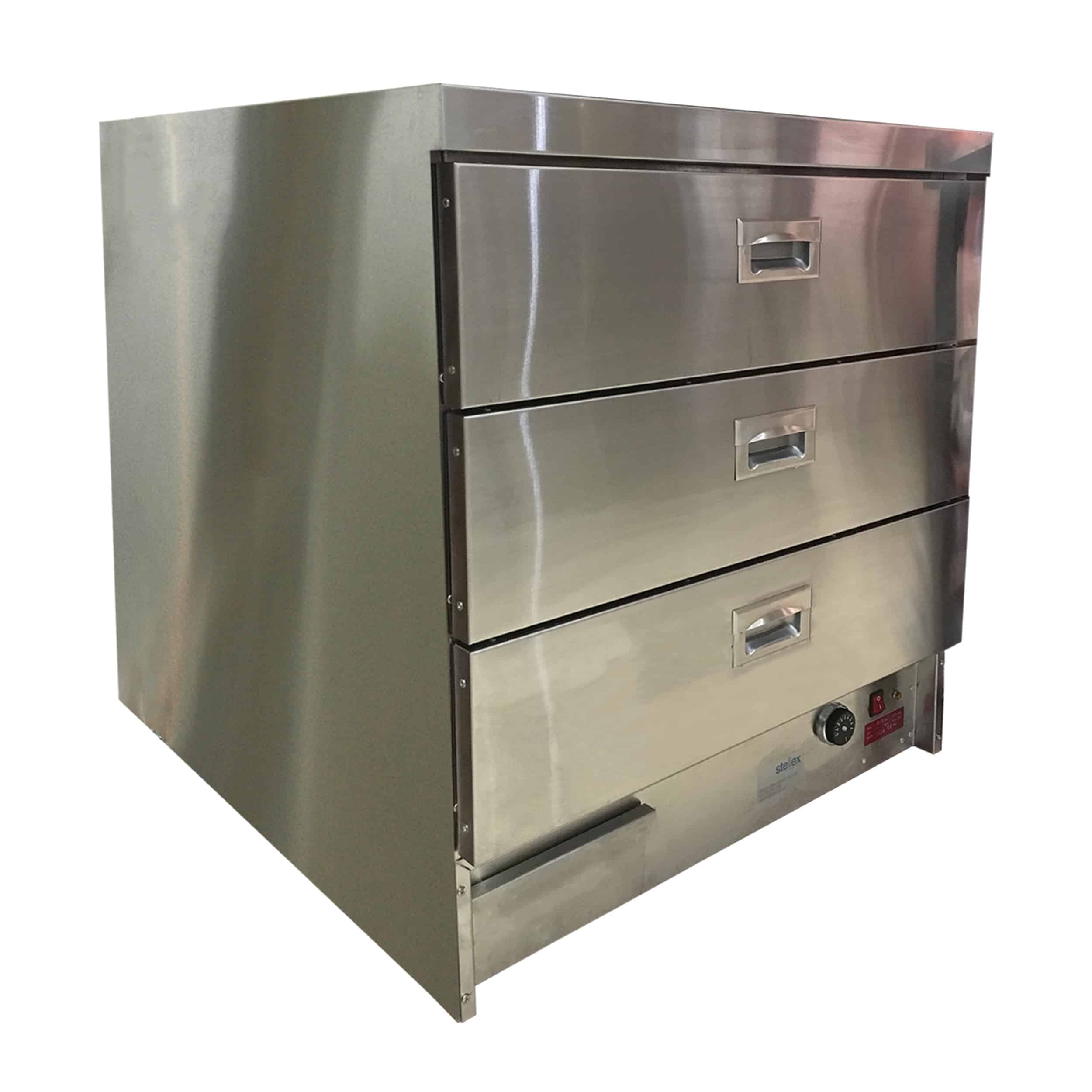 Stainless Steel Heated Drawers