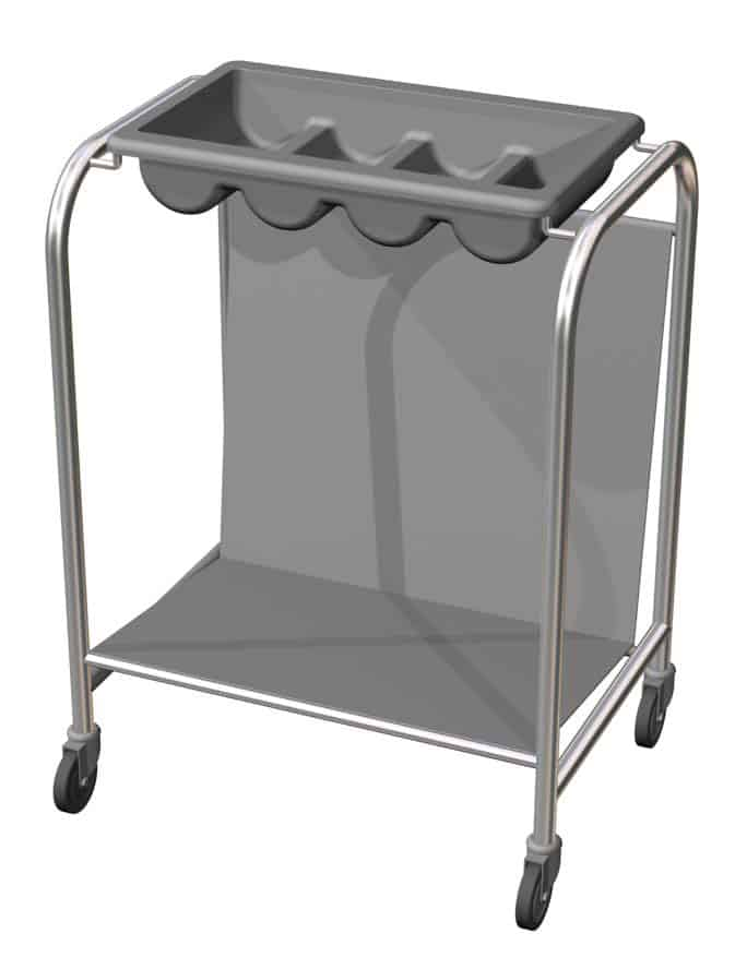 Tray and Cutlery Dispenser
