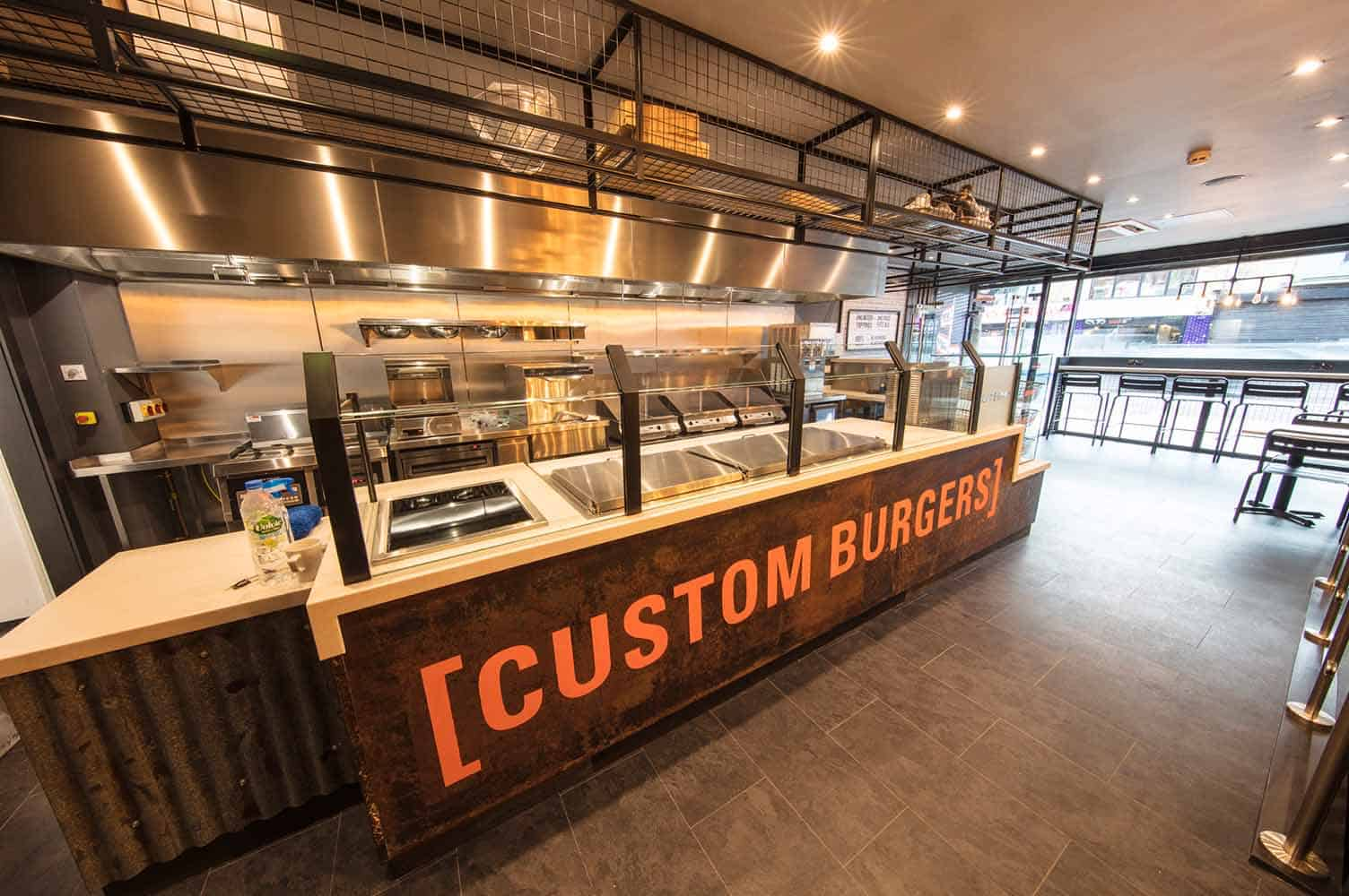 Built Custom Burgers