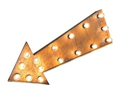 Rusty Arrow Light