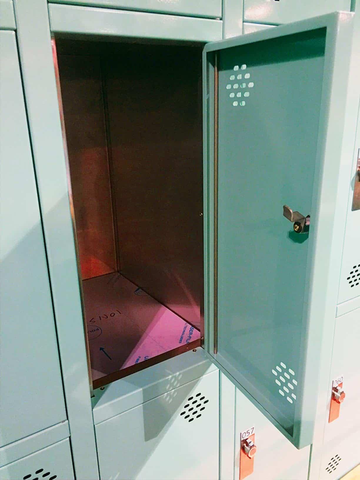 Powder Coated Lockers