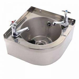 Corner Wash Hand Basin