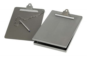 Stainless Steel Clipboard