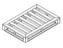 Flat Full Perimeter Pallet