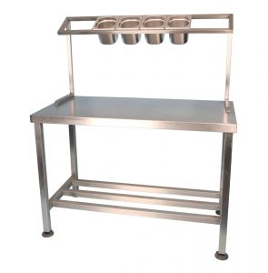 Stainless Steel Ingredient Table