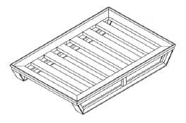 Flat Angled Skid Pallet